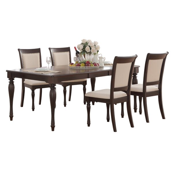 Scoggins 5 Piece Extendable Dining Set by Darby Home Co