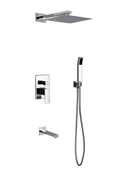 Cahoon Complete Shower System With Rough-in Valve By Rebrilliant