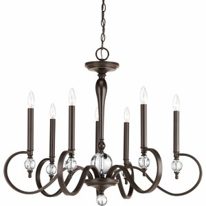 Holder 7-Light Candle-Style Chandelier
