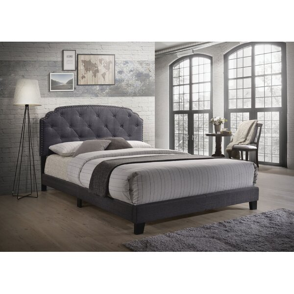Castalia Queen Upholstered Standard Bed by Charlton Home