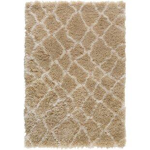Reviews Rechanoi Brown/White Area Rug ByTrent Austin Design