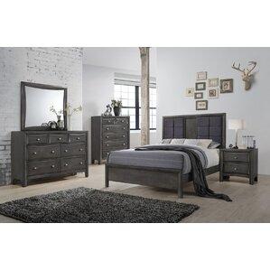 Tores Queen Panel Configurable Bedroom Set by Alcott Hill