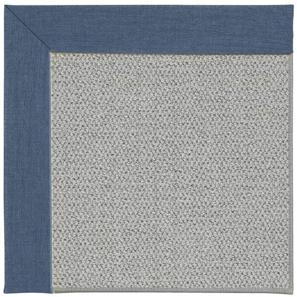 Hand Knotted Light Silver Area Rug By Exquisite Rugs
