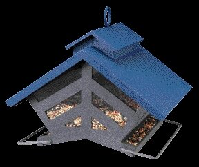 The Chalet Hopper Bird Feeder by Heritage Farms