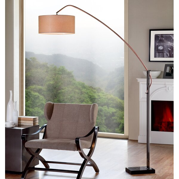Doonan 78.5 Arched Floor Lamp by Corrigan Studio
