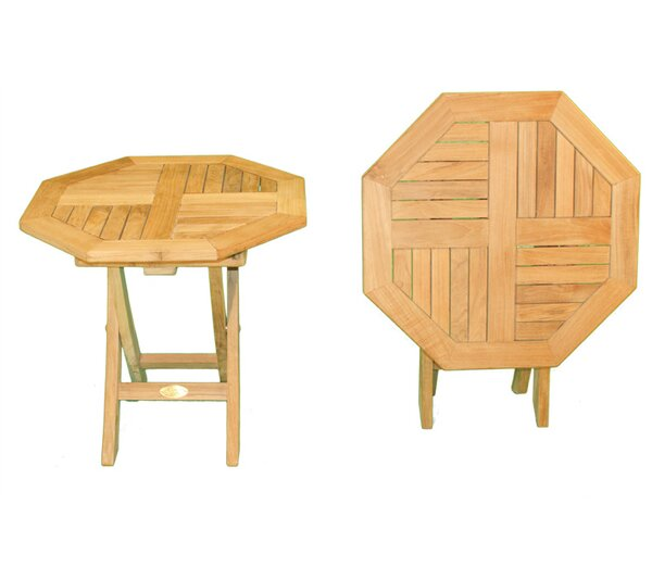 Octagonal Folding Side Table by Jewels of Java