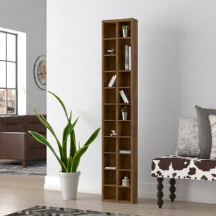 Brown Geometric Bookcase