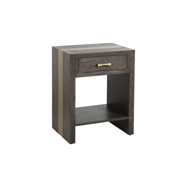 Eli 1 Drawer Nightstand by Gabby