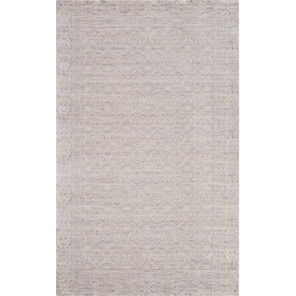 Wilshire Ivory/Gray Area Rug by CosmoLiving