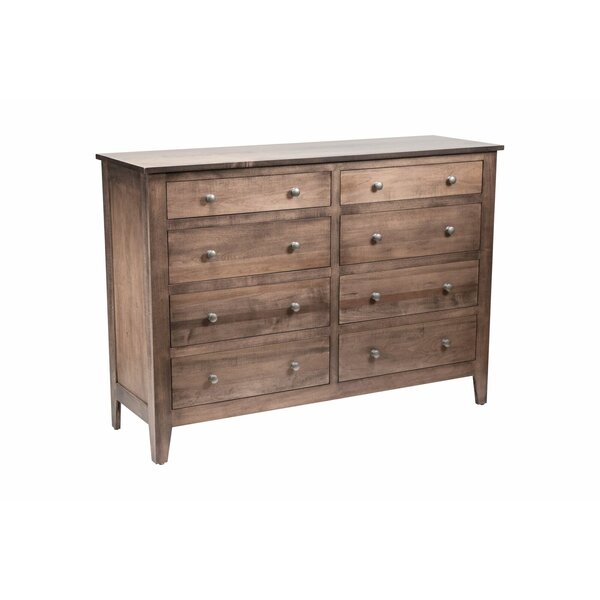 Mccalla 8 Drawer Double Dresser by Millwood Pines