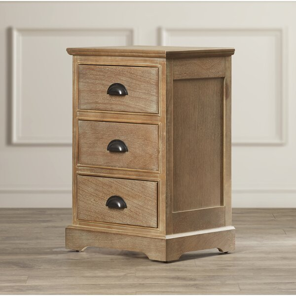 Griffin 3 Drawer End Table By Alcott Hill