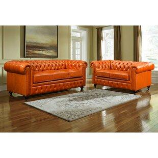 Kalinowski 2 Piece Standard Living Room Set by Canora Grey