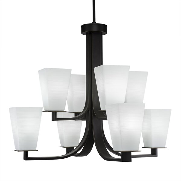 Elburn 8 - Light Shaded Classic / Traditional Chandelier By Red Barrel Studio
