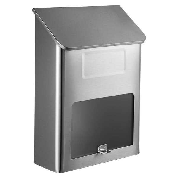 Winfield Wall Mounted Mailbox by Qualarc