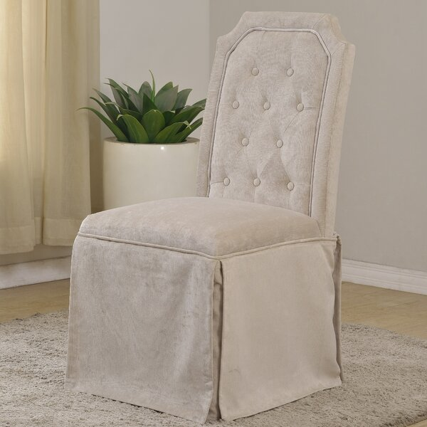 Upholstered Side Chair (Set of 2) by BestMasterFurniture