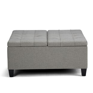Harrison Storage Ottoman Simpli Home