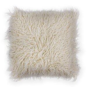 Authier Shaggy Faux Fur Throw Pillow