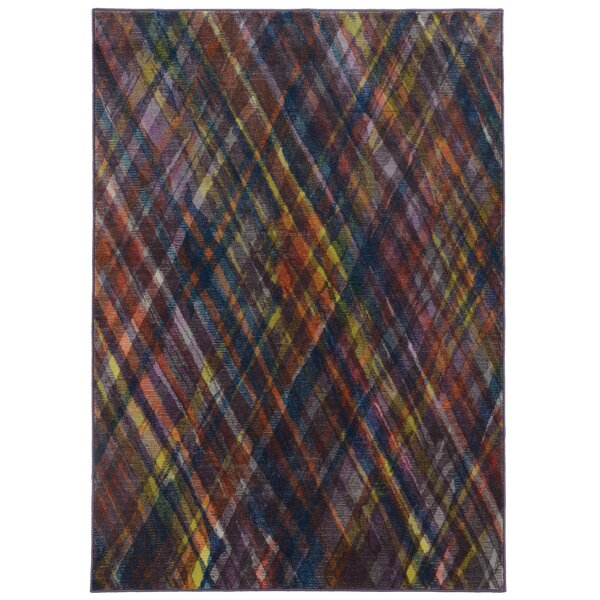 Prismatic Multi Geometric Area Rug by Pantone Universe