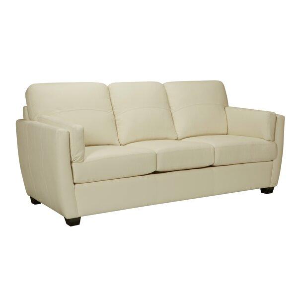Woodall Leather Sofa by Latitude Run
