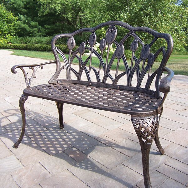 Farrior Aluminum Garden Bench by Brayden Studio