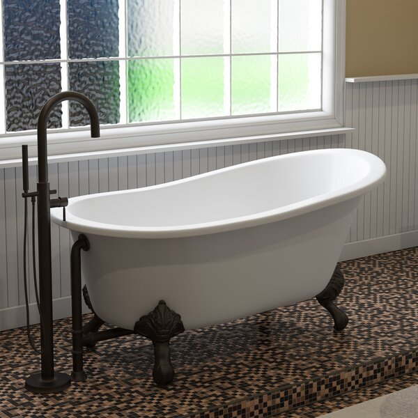 61 x 31 Clawfoot Bathtub by Cambridge Plumbing