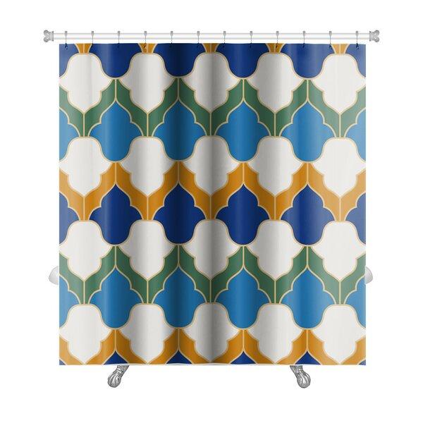 Gamma Islamic Geometric Premium Shower Curtain by Gear New