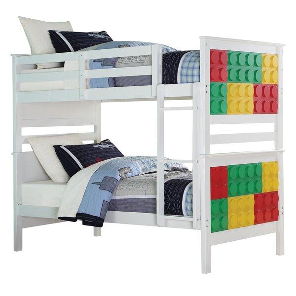 Knudsen Twin Over Twin Bunk Bed by Zoomie Kids
