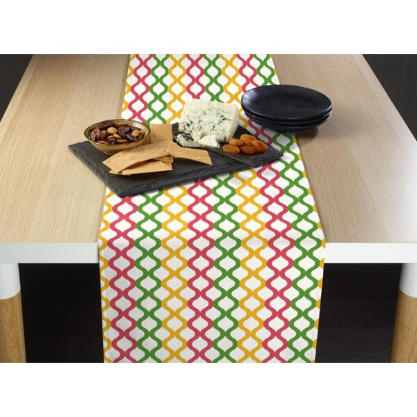 Mccarver Easter Lattice Milliken Signature Table Runner by Latitude Run
