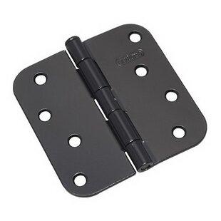 9 Pack Rok Hardware Strong Steel 4-1//2 Square Mortise Ball Bearing Folding Door Butt Hinge Brushed Nickel