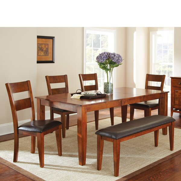 Mango 6 Piece Extendable Dining Set by Loon Peak