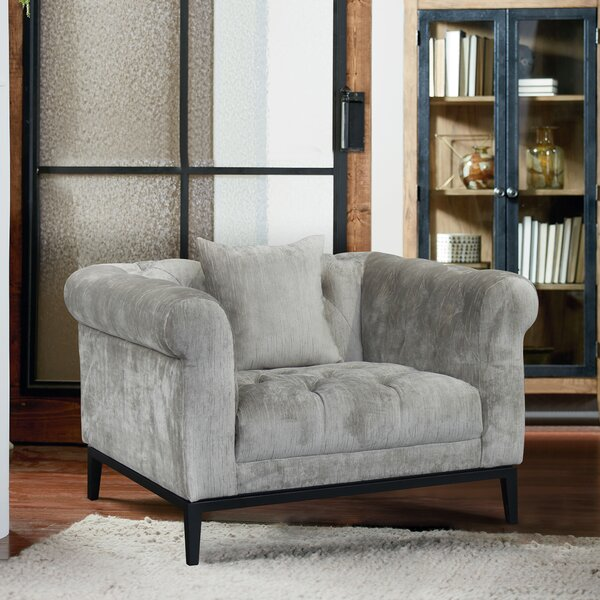 Follett Chesterfield Chair by Bungalow Rose