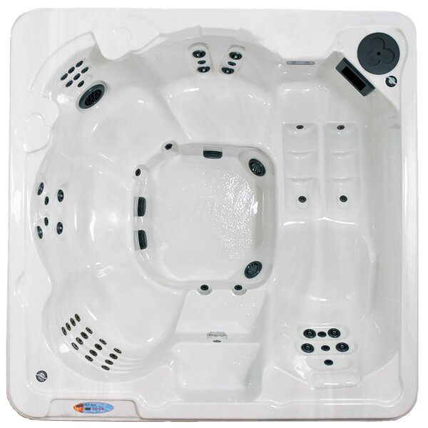 St. Thomas 6-Person 70-Jet Spa with Lounger by QCA Spas