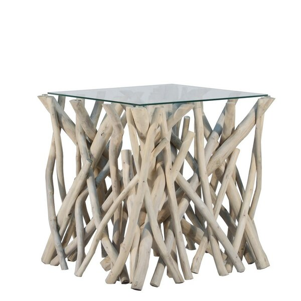 Natural Branch End Table by Ibolili