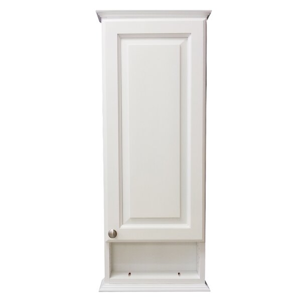 Drexel Series 15.25 W x 25.5 H Wall Mounted Cabinet by WG Wood Products