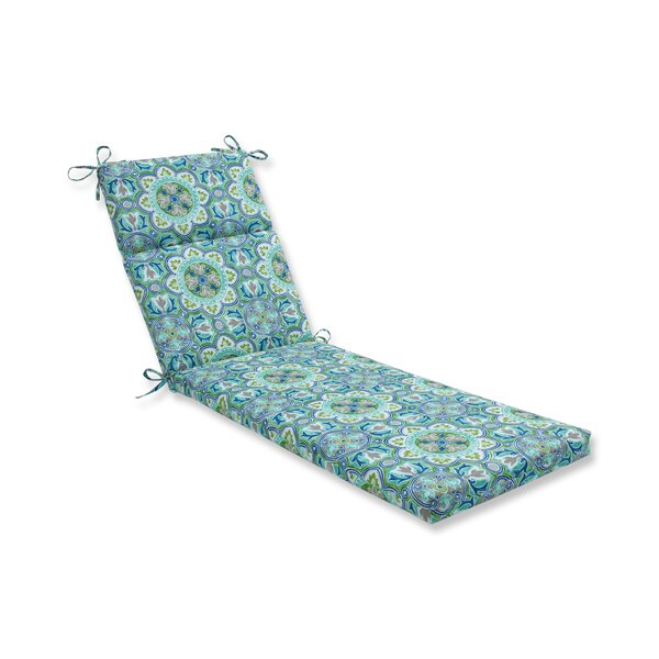Creswell Tile Pool Indoor/Outdoor Chaise Lounge Cushion