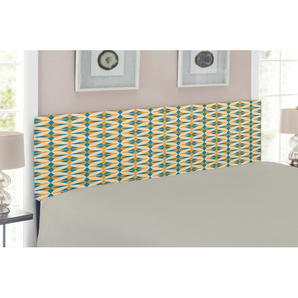 Ambesonne Geometric Upholstered Panel Headboard by East Urban Home