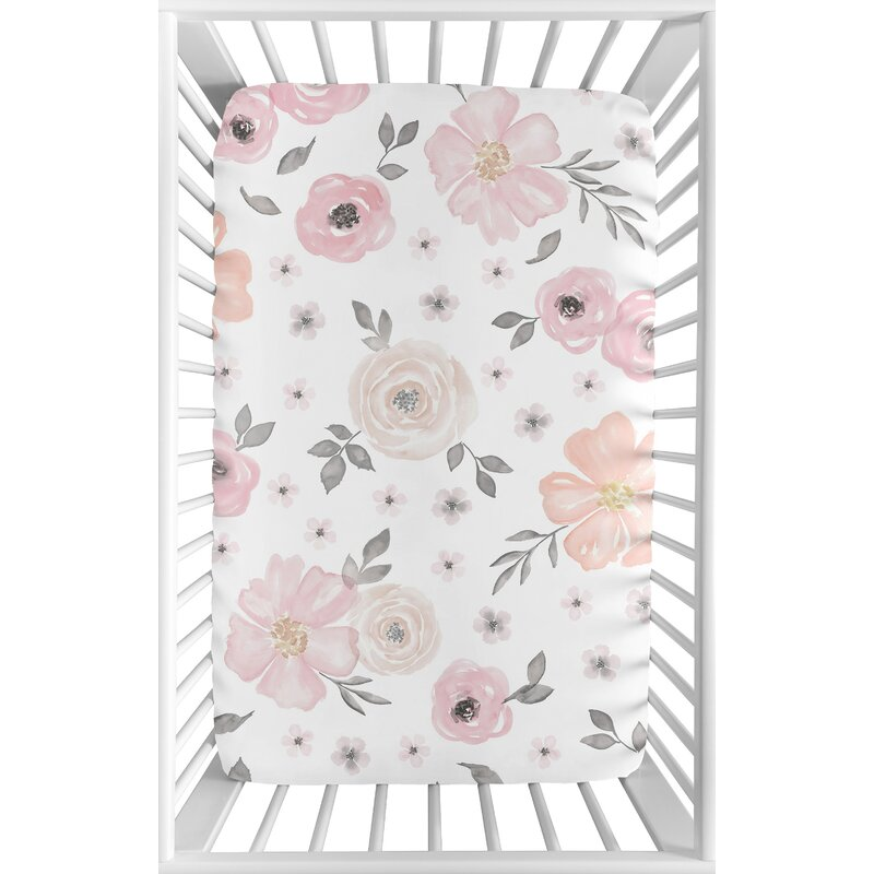 NEW Summer Infant Full Size Crib Sheet Pink FREE SHIPPING