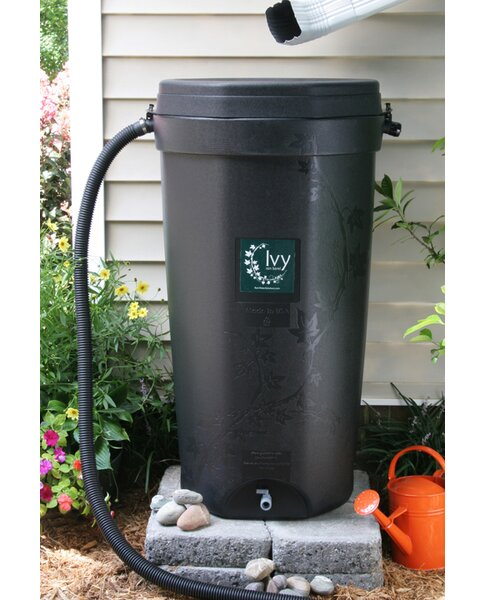 50 Gallon Rain Barrel by Rain Water Solutions