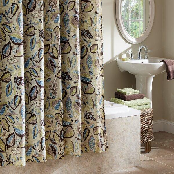Williams Jacobean Leaf Shower Curtain by Red Barrel Studio