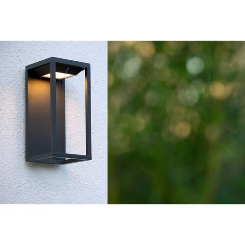 Tenso Solar LED Outdoor Wall Lantern Lucide