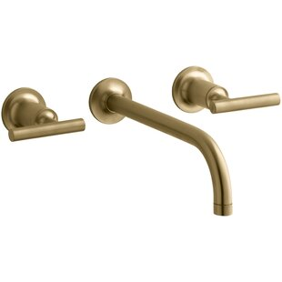 Modern & Contemporary Brushed Gold Bathroom Faucet | AllModern