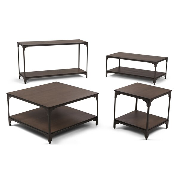 Summerdale 4 Piece Coffee Table Set by Williston Forge