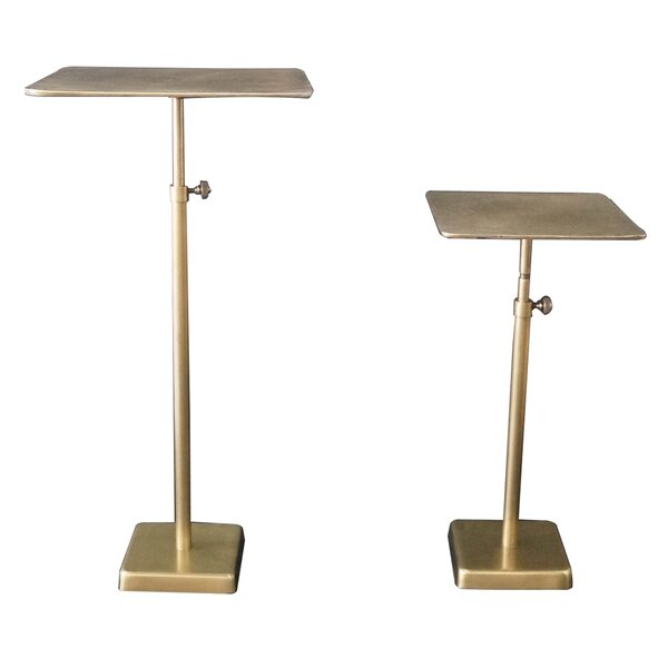 Wessel 2 Piece Nesting Tables By World Menagerie