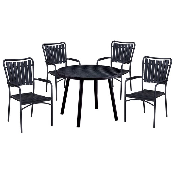 Greenhills 5 Piece Dining Set by Highland Dunes