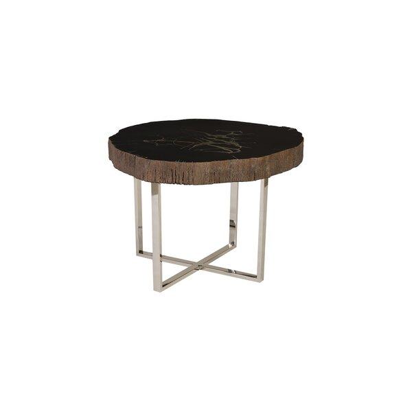 Cast Petrified Coffee Table