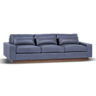 Corrine Genuine Leather Sofa
