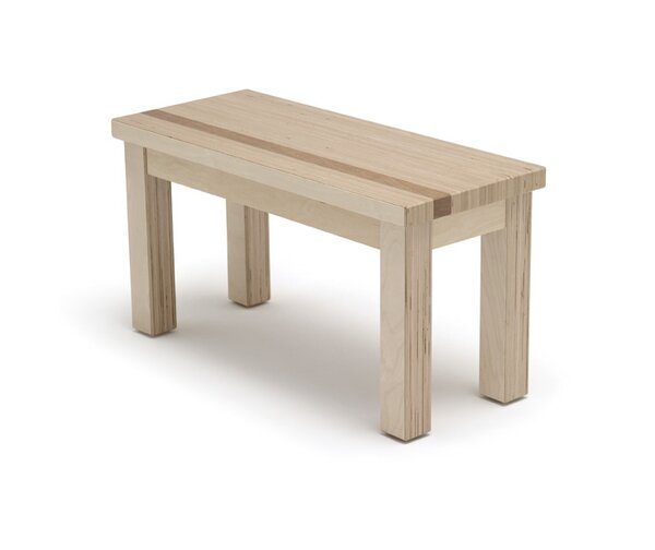Narrative Structure Wooden Bench by Context Furniture