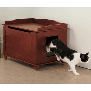 meow town litter box enclosure - Cat Litter Box Enclosure
