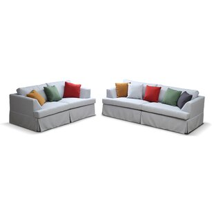 Kokon Configurable 2 Piece Living Room Set by Rosecliff Heights