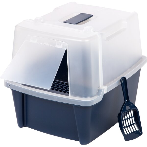 Palmer Hooded Litter Box by Tucker Murphy Pet